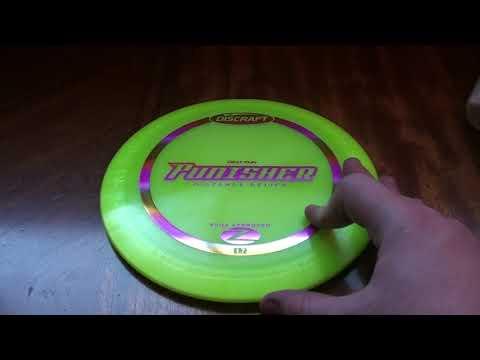 Discraft Z Punisher Disc Golf Disc Review - Disc Golf Nerd