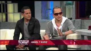 Alexis Valdes entrevista al dúo puertorriqueño Angel y Khriz.