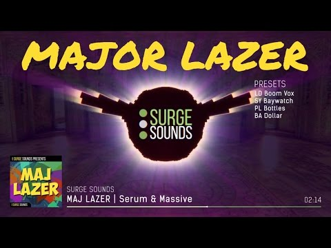 Moombahton & Trap | MAJOR LAZER Presets