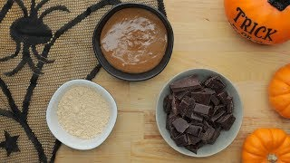 Dark Chocolate Almond Butter Cups // Presented By Incredibles 2