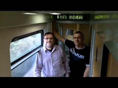 CHINA Trip per Bahn travel vlog #10
