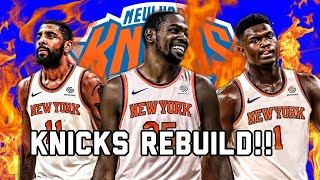 REBUILDING THE NEW YORK KNICKS| NBA 2K20 MYLEAGUE REBUILD|