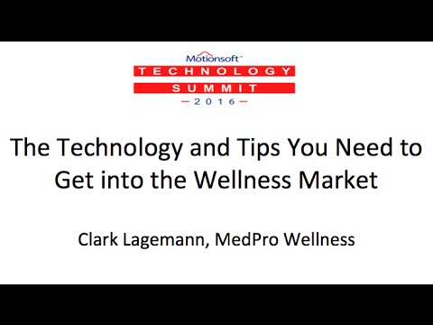 The Technology and Tips You Need to Get into the Wellness Market