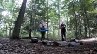 Backpacking in Allegheny National Forest
