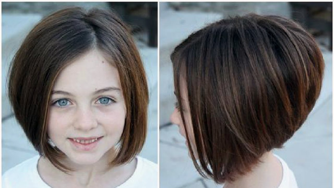 Bob Haircuts Little Girl
