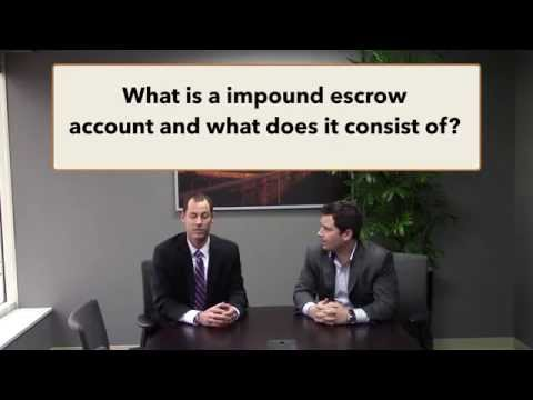 What is a impound/escrow account?