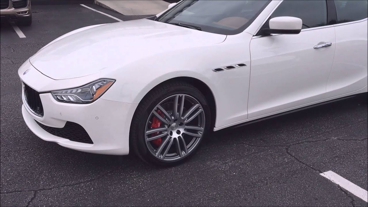 Maserati Ghibli Maintenance (How much does it cost?) - YouTube