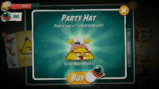 Angry Birds 2 party hat set