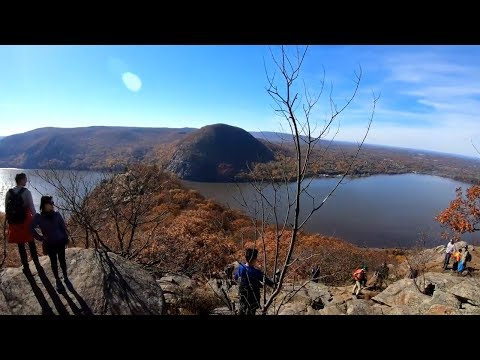 5 Hour Hike At Breakneck Ridge, Bull Hill, Undercliff Trail In Hudson Highlands To Cold Spring, NY
