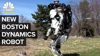 Boston Dynamics' Atlas And SpotMini Have Learned A Few New Tricks | CNBC