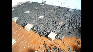 видео Стяжка бетонного пола на деревянный пол в частном доме
