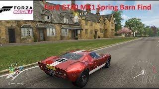Forza Horizon 4-Ford GT40 MK1 Gameplay (Spring Barn Find Car)