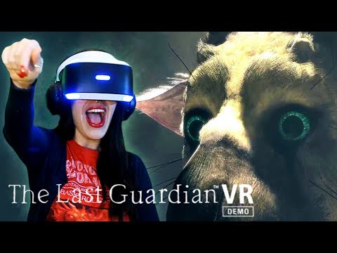 The Last Guardian VR - Trico is Real
