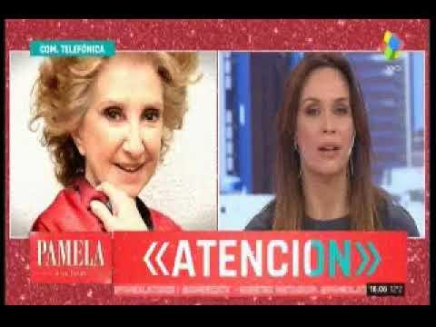 Norma Aleandro le tapó la boca a Pamela David y sus panelistas: mirá el cruce