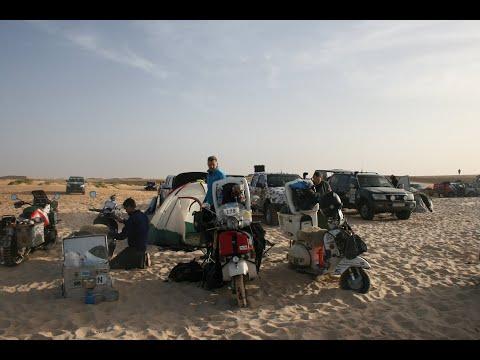 Vespas To Africa. The Budapest-Bamako Rally 2012 - Full Length Documentary