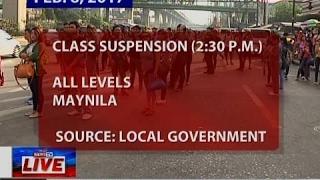 Class suspension (Feb 6, 2017)