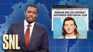 Weekend Update: Morgan Wallen Video & Super Bowl Bets - SNL