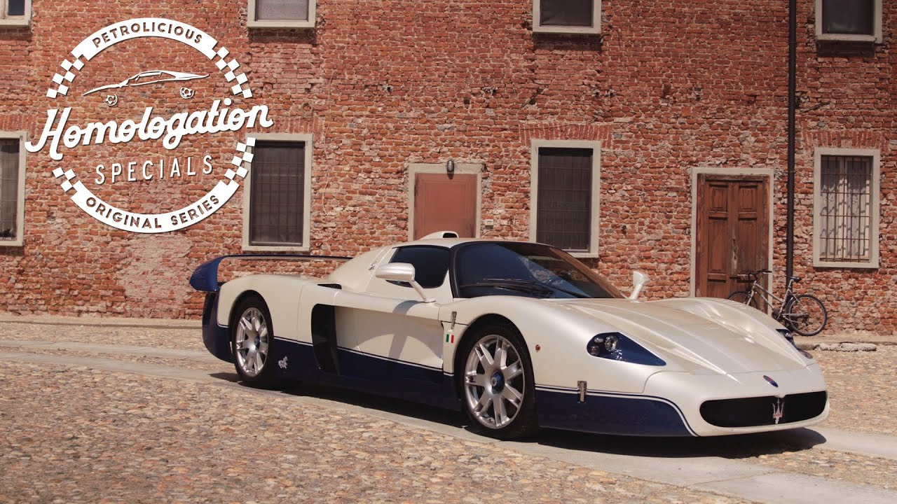 2004 Maserati MC12: The Racing Supercar
