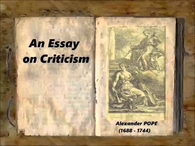 An Essay on Criticism version 2 Full Audiobook by Alexander POPE by Poetry, Essays