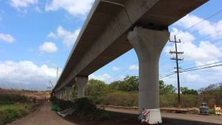 Honolulu Rail Construction Progress