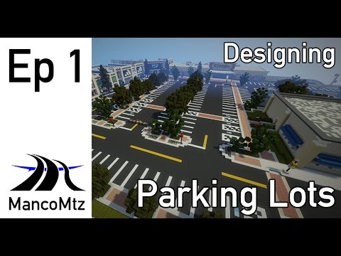 MancoMtz Teaches Parking Lot Design