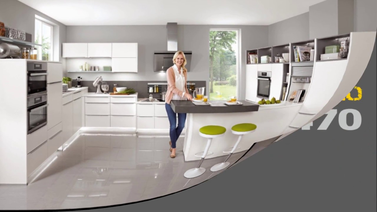 Cocinas novedades 2017 cocinas blancas youtube for Cocinas modernas valencia