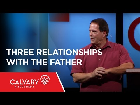Three Relationships with the Father - Luke 15:11-31