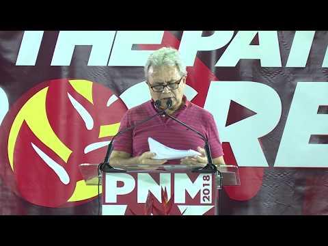 Hon. Colm Imbert, MP, Public Meeting, Diego Martin