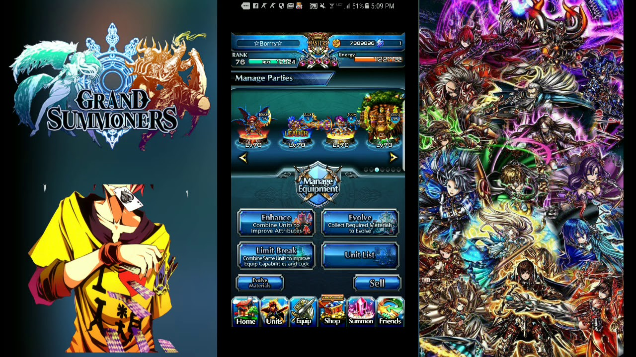 Grand summoners (Beginners Team Building Guide)