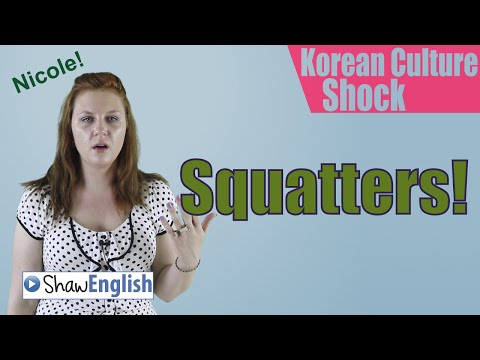 Culture Shock Korea: Squat Toilets / Squatters