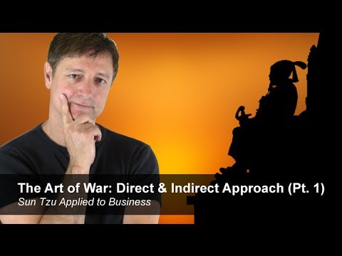 The Art Of War Direct Indirect Approach Pt 1 Sun Tzu Applied To Business Youtube