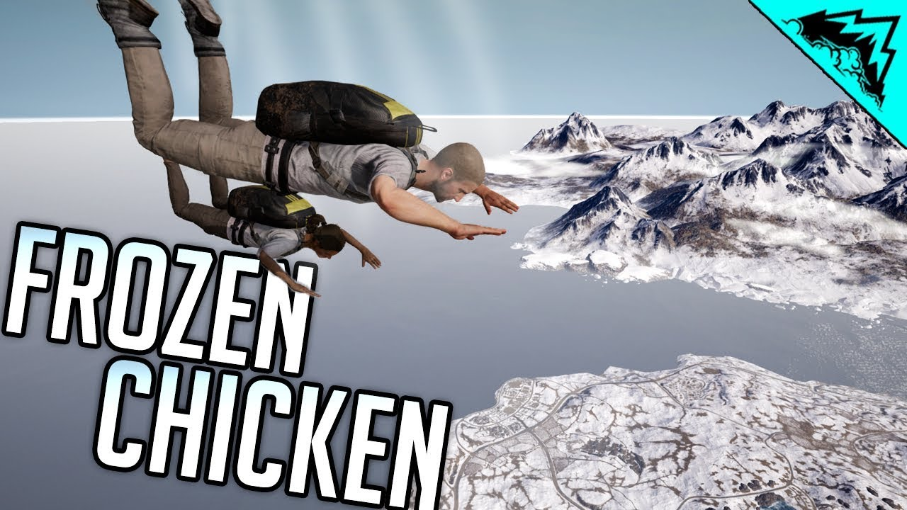 1st frozen chicken pubg new winter map youtube. Black Bedroom Furniture Sets. Home Design Ideas