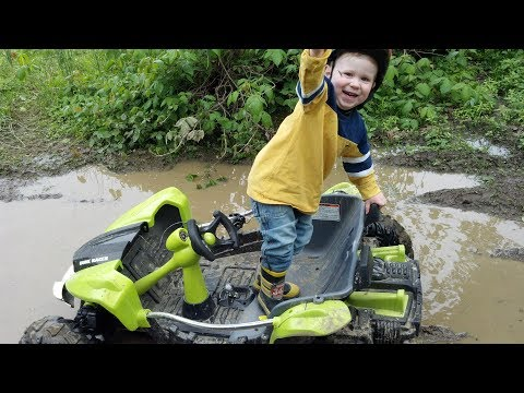 Dune racer power wheels from walmart is a beast!!! MUD everything