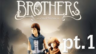 Two Brothers Play- Brothers: A Tale of Two Sons, Co-Op, Part 1