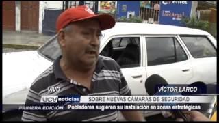 Vivo: Nuevas cámaras de seguridad en Víctor Larco