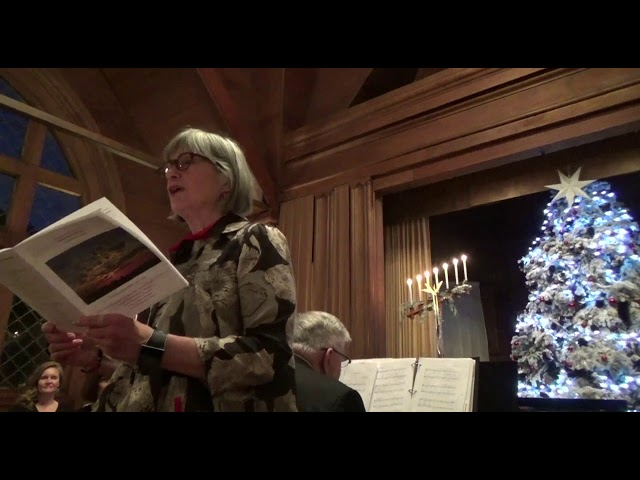 Julie reads Rev  Sally poem
