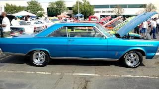 1965 METALLIC BLUE FORD GALAXIE 500 390 ENGINE