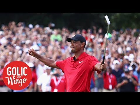 How Tiger Woods intimidated competition to win Tour Championship | Golic & Wingo | ESPN