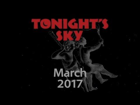 Tonight's Sky: March 2017
