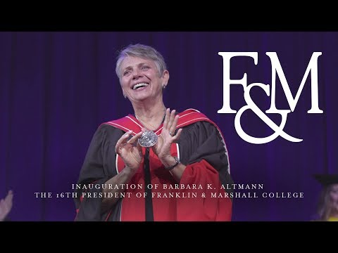 F&M Inauguration Highlights