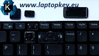 Instalation Guide how to install fix repair key in keyboard Dell Vostro 2521 V2521 3540