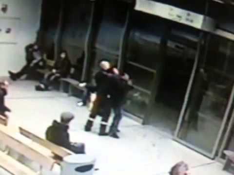 Oslo Security guard chokehold