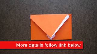 Origami Happy Envelope