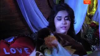 Ishq Subhan Allah: Zara looked gorgeous in red night gown, Kabir kept staring