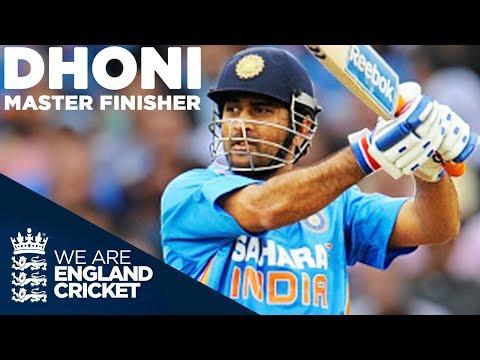 MS Dhoni - Master Finisher | England v...
