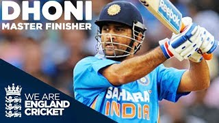 MS Dhoni - Master Finisher | England v India 2011 - Highlights