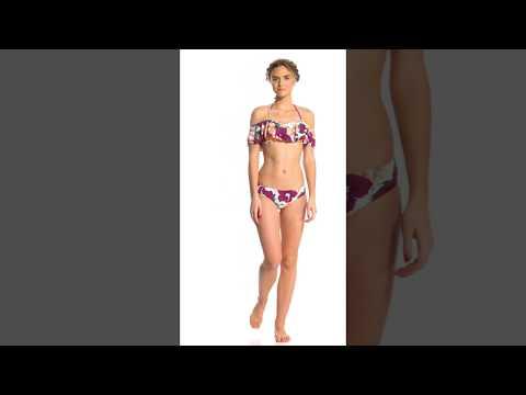 Radio Fiji Waikiki Midori Bikini Bottom | SwimOutlet.com