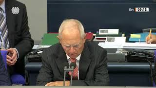 Bundestag: Haushaltsberatungen über den Etat der Bundeskanzlerin und des Bundeskanzleramts