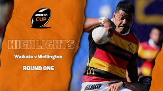 RD 1 HIGHLIGHTS | Waikato v Wellington (Mitre 10 Cup 2020)