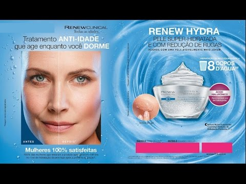 Avon Renew Clinical Hydra Ácido Hialurônico 50g​ | Renew Novo!